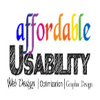 Read about Affordable Usability's User-Centered Web Designs, logos, brochures, usability studies, and more. Find out how we offer cheap quality seach engine optimazation and cheap good websites in Chicago. We're cheap but good, That makes us a great value for any and all small business!